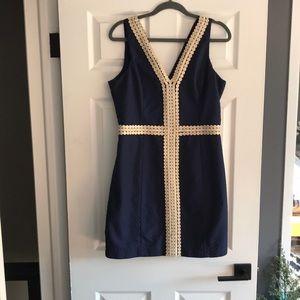 Lilly Pulitzer Bentley Shift Dress - EUC, Size 12